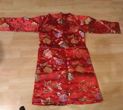 Vietnamese Traditional Dress for kids ( AO DAI TRE EM, boy and girl)-no pant