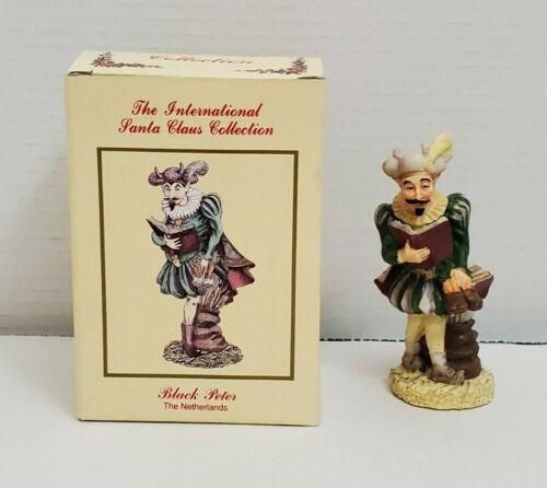International Santa Claus Figurine Netherlands BLACK PETER Dutch Holland Holiday