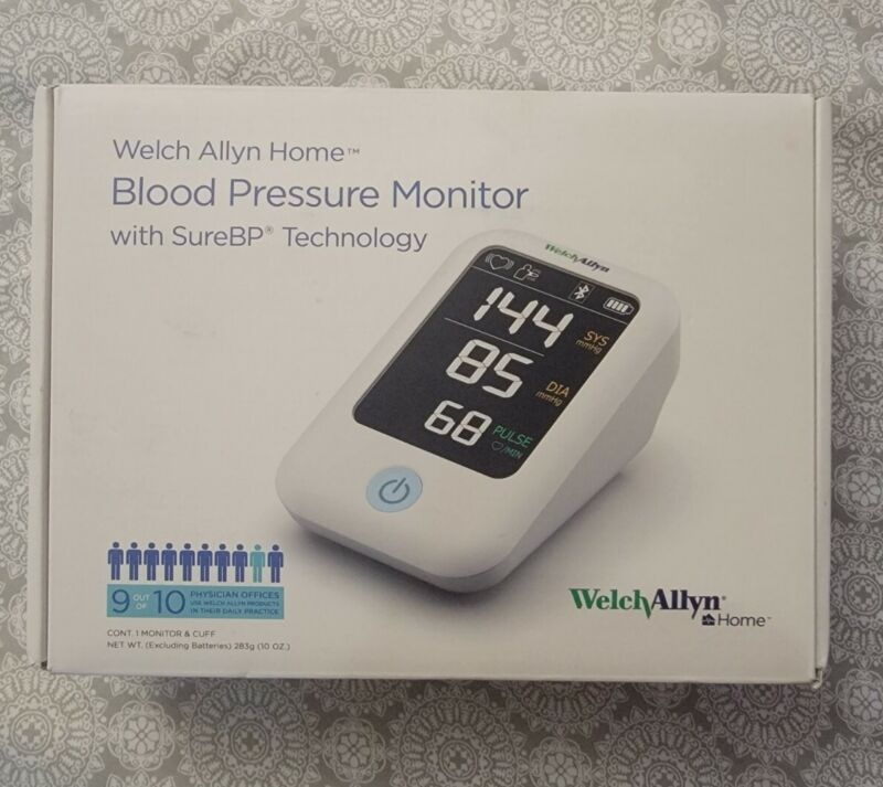 Welch Allyn Home H-BP100SBP Blood Pressure Monitor With SureBP Technology