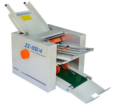 Automatic Paper Folding Machine Folder 310700 Mm Paper 4 Folding Plates 220v