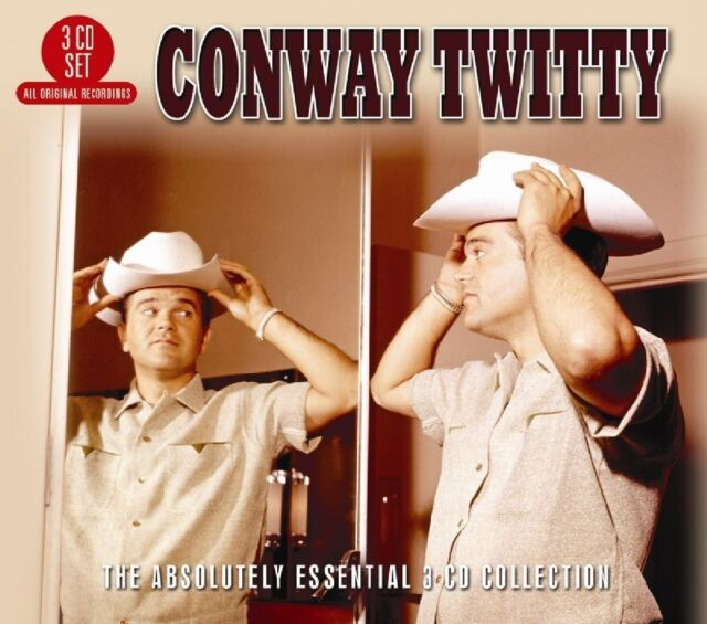 CONWAY TWITTY-ABSOLUTELY ESSENTIAL THE ABSOLUTELY ESSENTIAL COLLECTION 3CD NEU
