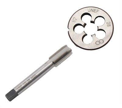 New 12-28 Gunsmithing Tap And Die Set12 X 28 22lr 223 5.56 9mm