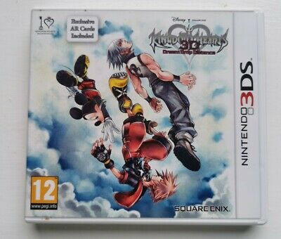 Kingdom Hearts 3D Dream Drop Distance - for Nintendo 3DS With Case and Manual
