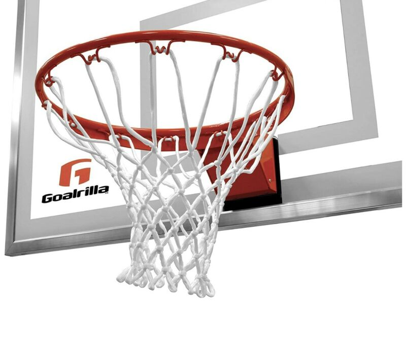 Goalrilla Heavy-Weight Pro-Style Breakaway Basketball Flex Rim