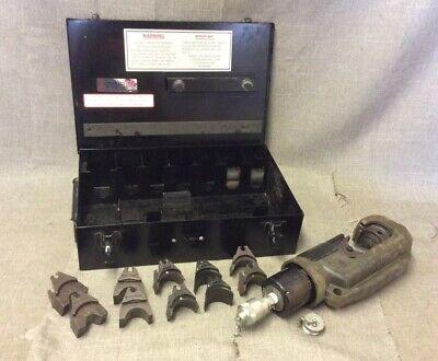 Burndy Y46c Hypress Remote Hydraulic In Metal Case