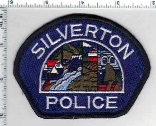 Silverton Police (Oregon) Shoulder Patch from the 1980