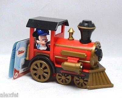 Disney Mickey Mouse Pullback Plastic Train 4.5