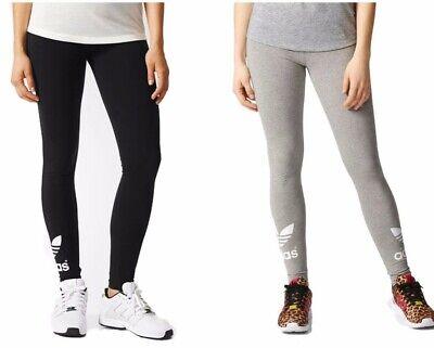 adidas Originals Trefoil Leggings -Grey-Black