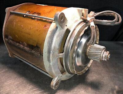 Genuine Hobart 4346 Mixer Grinder Motor 3 Phase 208v With Flinger Assembly