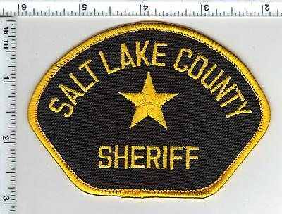 Salt Lake County Sheriff (Utah) Smaller Shoulder Patch from the 1980's