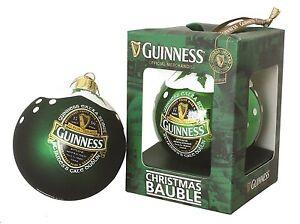 Guinness Ireland Christmas Bauble Soft Sheen