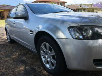 2008 HOLDEN COMMODORE OMEGA SPORTWAGON LOW KM BOOKS