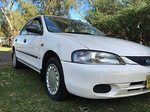 1997 FORD KJII LASER SEDAN AUTO 137K's JAN 17 REGO EXC COND Bonnells Bay Lake Macquarie Area Preview