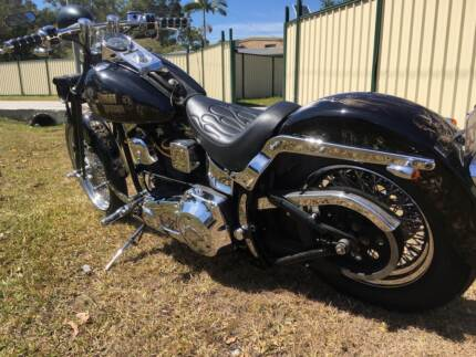 1996 Harley Davidson Heritage Soft Tail Classic Full Custom