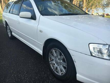 2007 FORD BFII FALCON FUTURA WAGON AUTO 10/18 REGO GOOD CAR
