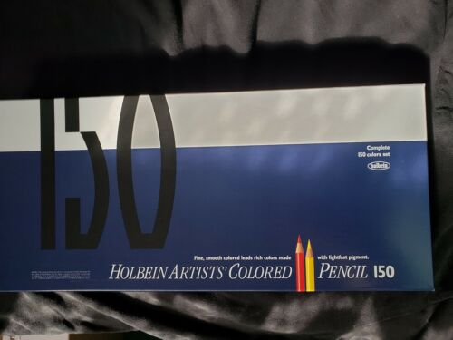 IN-HAND Brand New Holbein Color Pencil 150 Colors Set Paper Box
