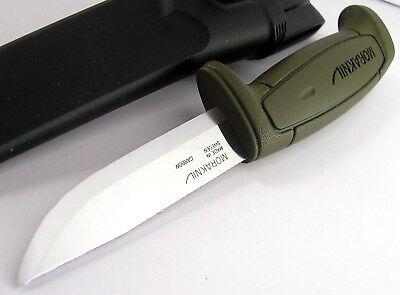 Mora Morakniv Basic 511 GREEN Skinner Carbon Steel Knife Sweden 511 GREEN OLIVE