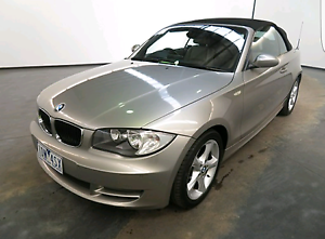 Bmw 120i CONVERTIBLE+9 MONTHS REGO +SERVICED RECENTLY EXCELLENT C Mount Waverley Monash Area Preview