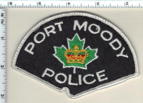 Port Moody Police (Canada) Uniform Take-Off Shoulder Patch from 1990