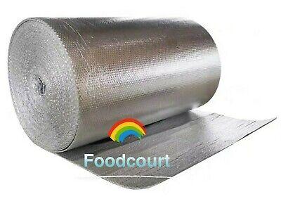 Double Foil Insulation Reflective Bubble Roll - 39 X 100 Ft Per Roll 330sqft