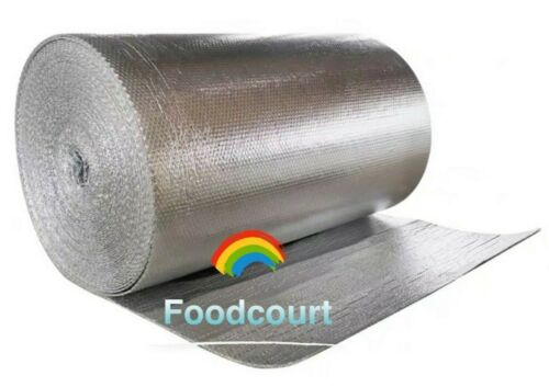 """Continuous Double Foil Insulation Reflective Bubble Roll - 39"""" By Yard (39""""x3FT)"""