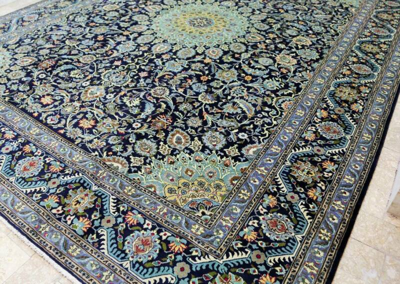 Persian Carpet Mive Room Size Hand Knotted