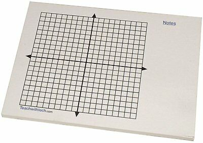Mini Graph Pad Sticky Notes Coordinate Graph 20 X 20 With Note Section Free Ship