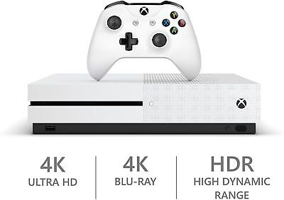 Xbox One S 500 GB White Console - Refurbished