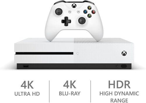 Xbox One S 500 GB White Console - Refurbished