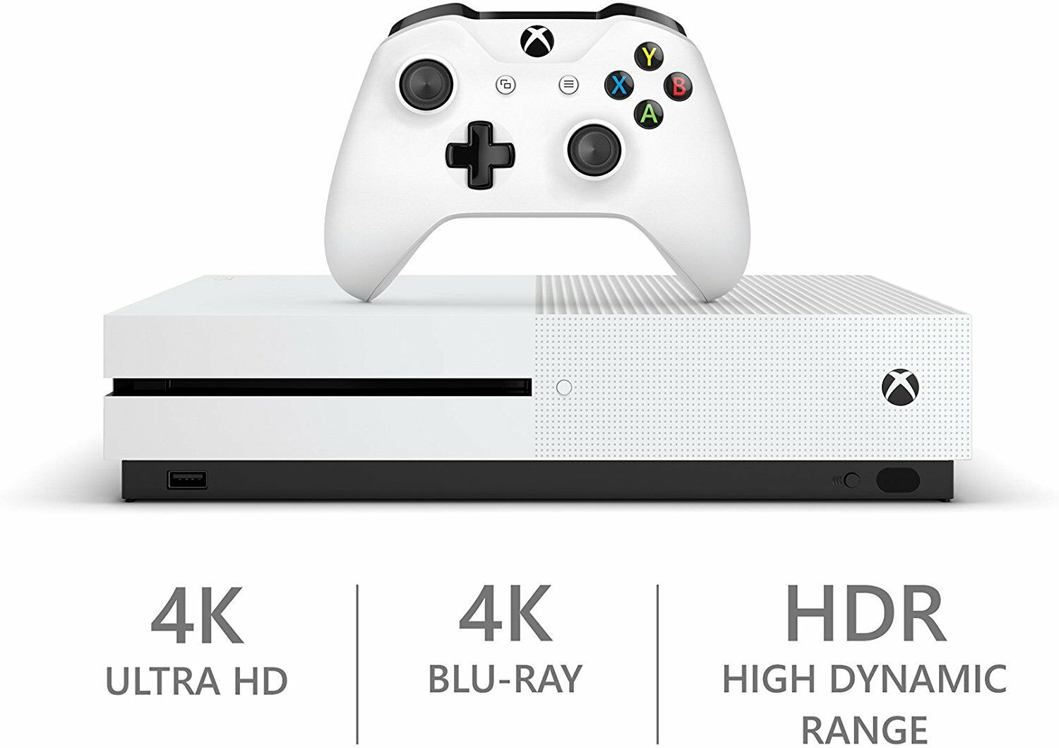 $198.99 - Xbox One S 500 GB White Console - Refurbished
