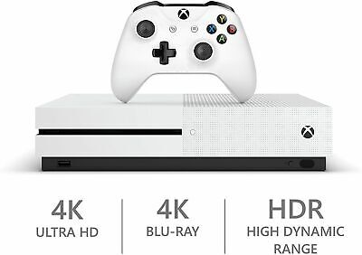 Microsoft Xbox One S 1TB 1 TB White Console System
