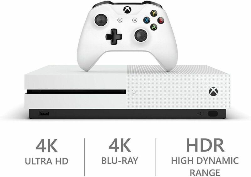 Microsoft Xbox One S 1TB 1 TB White Console System