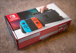 Brand New Unpatched Nintendo Switch Neon Rare $380 FIRM