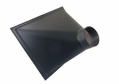Gigantic 13 X 16 X 10 Abs Plastic Dust Hood W 4 Od Opening For Dust Collector