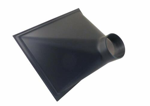 "Gigantic 13 x 16 x 10"" ABS Plastic Dust Hood w/ 4"" OD Opening for Dust Collector"