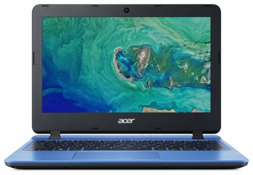 Acer Aspire 1 11 Inch Celeron N4000 1.1 GHz 2GB 32GB eMMC Laptop - Blue