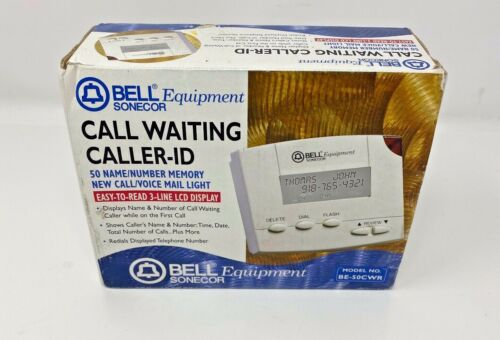 NEW! Bell Equipment Model: BE-50CWR Call Waiting Caller-ID by Aastra Telecom