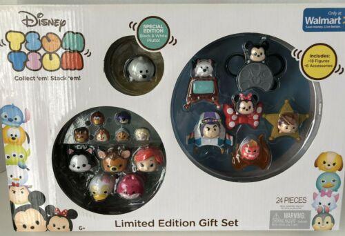 NEW Disney Tsum Tsum Limited Edition Gift Set Walmart Exclusive 24 Pieces