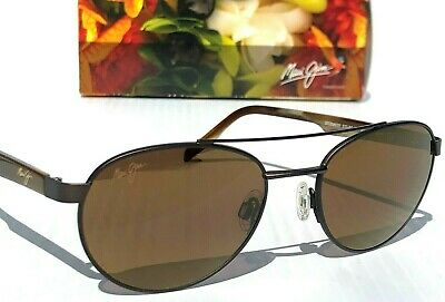 NEW* Maui Jim UP COUNTRY Antique brown w POLARIZED HCL Bronze Sunglass (Maui Jim Upcountry)