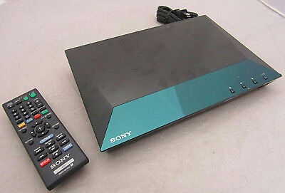 SONY BDP-S3100 Blu Ray DVD Player - Wi-Fi LAN Built In - With Remote Control