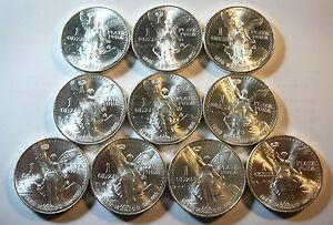 1985 1oz. .999 Silver Mexican Libertad Plata Pura Onza