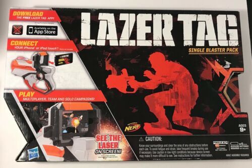 Hasbro LAZER TAG SINGLE BLASTER Pack, Orange
