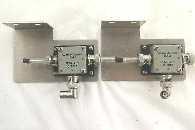 Lot Of 2 15542 Mini-circuits Zfsc-2-4 Splitter