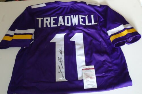Laquon Treadwell signed (Minnesota Vikings) jersey JSA Witnessed Proof