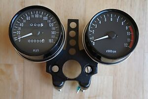 NEW-TACHOMETER-AND-SPEEDOMETER-SET-for-KAWASAKI-Z900-A4-Z1000-A1-2-MK1I-Z650-KZ