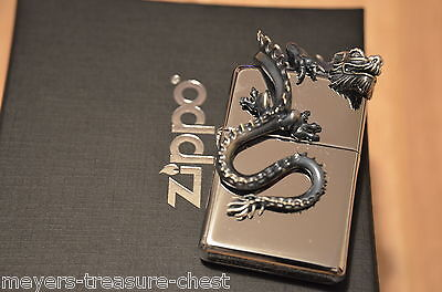 Original ZIPPO DRAGON limited mystery lighter very rare collectible