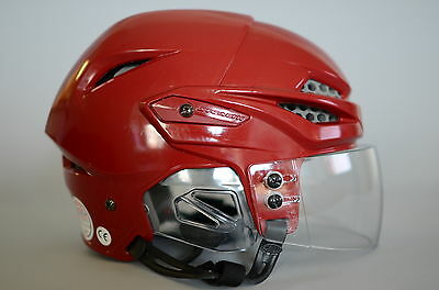 Hockey Visor 2-PACK (Anti-Scratch) Sr Sz Half-shield Great Optics