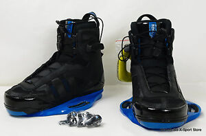 RONIX 2012 Parks Wakeboard Bindings/Boots- Black- US 12 - NEW