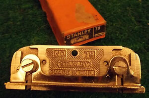 NEW,OLD,STOCK,VINTAGE,BOXED,STANLEY,SIDE,REBATE,PLANE,No.79,WOODWORK,CARPENTRY