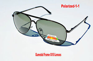 Brand New Metal Aviator Polarized Sunglasses Fishing HIking Fashion mens womens